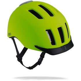 BBB Grid Helm matt neon yellow